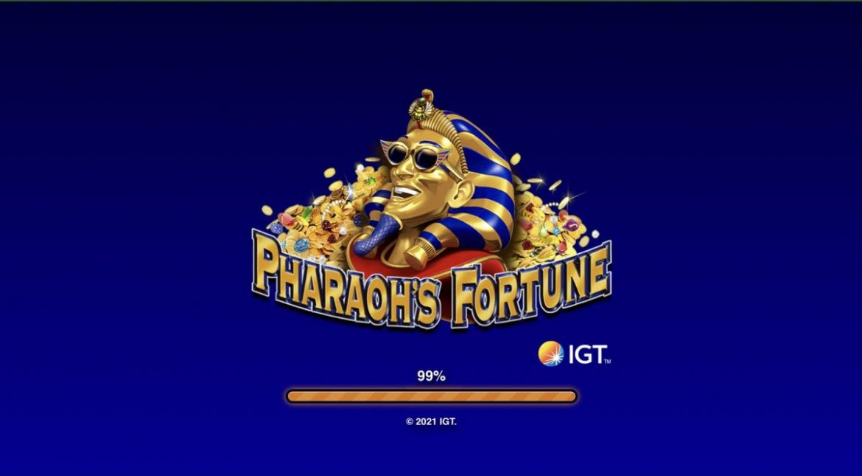 เกมสล็อตอียิปต์ Pharaoh's Fortune เกมคุณภาพดีจาก IGT